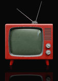 Retro plastic TV Stock Photos