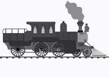 retro pociąg royalty ilustracja