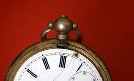 Retro pocket clock Royalty Free Stock Image