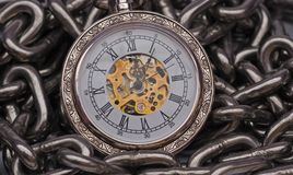 Retro Pocket watch Stock Images