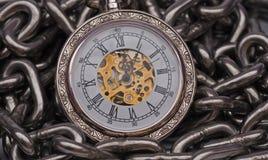 Retro Pocket watch Stock Images