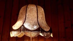Retro podłogowa lampa iluminująca zdjęcie wideo