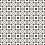Retro Podłogowe płytki patern, czarny i biały ilustracji