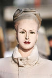 Retro pokazu mannequin przy Chińskim plenerowym rynkiem, Pekin, Chiny Obrazy Stock