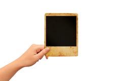 Retro polaroid frame Stock Image