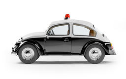 Retro police car Royalty Free Stock Photography