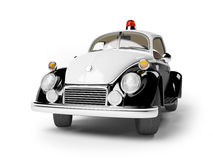 Retro police car Stock Images