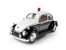 Retro police car Stock Photo