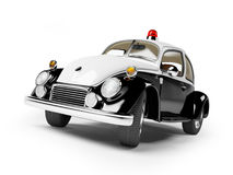 Retro police car Stock Photography