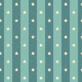 Retro polka american star background Royalty Free Stock Photos