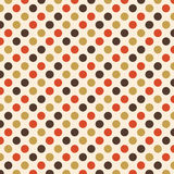 Retro Polka Dot Design Royalty Free Stock Photography