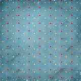 Retro Polka Dots Royalty Free Stock Images