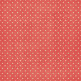 Retro polka dots background. Coral background. Noise and grunge. Perfect for scrapbook and designs Royalty Free Stock Photos