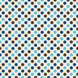 Retro- Polka-Punkt-Auslegung Stockbilder