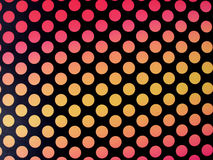 Retro polkadot background Stock Photo