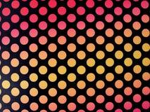 Retro polkadot background. With hot tone Stock Photo
