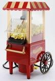 Retro Popcorn Machine. A isolated machine on popcorn vintage white Stock Photos