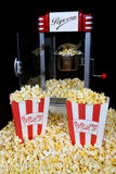 Retro Popcorn Machine Stock Image