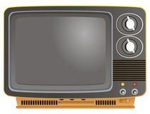 Retro- Portable Fernsehen Stockbild