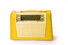 Retro portable radio Stock Photo