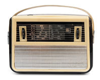 Retro portable radio Royalty Free Stock Photography