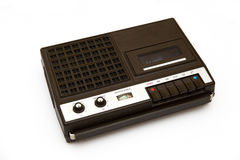 Retro portable tape recorder Stock Photo