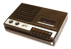 Retro portable tape recorder Royalty Free Stock Photos