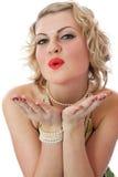 Retro portrait Royalty Free Stock Images