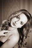 Retro portrait Royalty Free Stock Photos