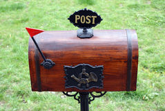 Retro post box Stock Photography