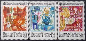 Retro postage stamp Royalty Free Stock Image
