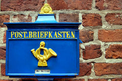 Retro- Postbox Lizenzfreies Stockbild
