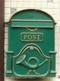 retro postbox Arkivbilder