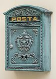 Retro postbox stilizzato Fotografia Stock