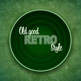 Retro postcard background with space for message Royalty Free Stock Image