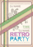 Retro poster Royalty Free Stock Images