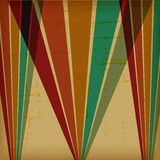 Retro poster with abstract grunge background Royalty Free Stock Photography