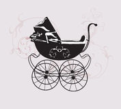 Retro pram Stock Photos