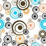 Retro priorità bassa del cerchio Royalty Illustrazione gratis