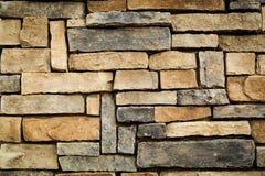 Retro priorità bassa della parete di pietra Fotografia Stock Libera da Diritti
