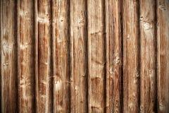 Retro priorità bassa di legno Immagini Stock Libere da Diritti