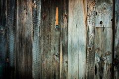 Retro priorità bassa di legno della parete Immagine Stock