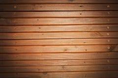 Retro priorità bassa di legno Vecchia parete di legno Immagini Stock