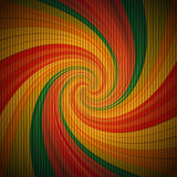 Retro psychedelic background Stock Photography