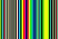 Retro psychedelisch multicolored kleurrijk naadloos strepenpatroon De abstracte achtergrond van de Illustratie Modieuze moderne t Stock Foto's