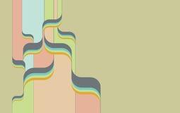 Retro- psychedelischer Hintergrund v.3 Lizenzfreie Stockfotografie