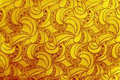 Retro purpere bloemenachtergrond Royalty-vrije Stock Foto