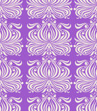 Retro purple pattern Royalty Free Stock Images