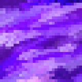 Retro Purple Pixels. Different shades of purple and lilac pixels Royalty Free Stock Photos