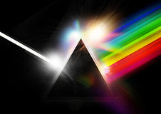 Retro Pyramid Background Stock Photography